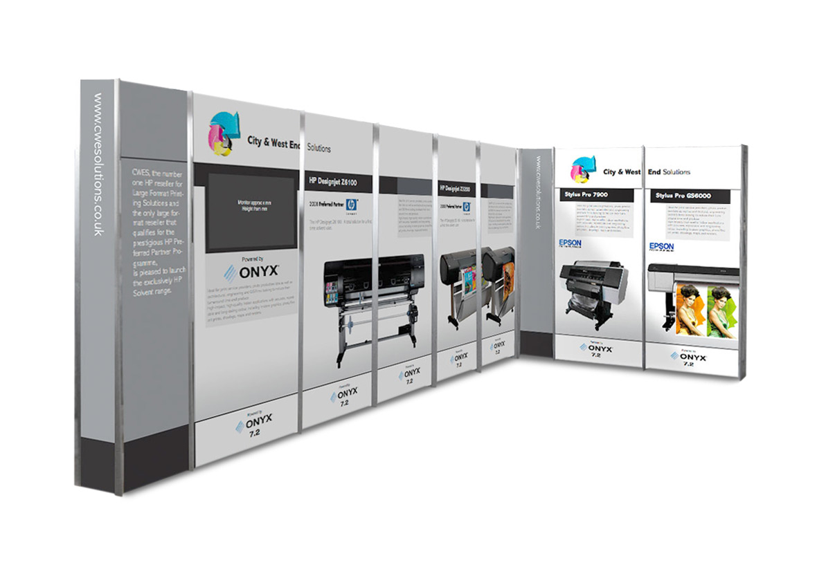 Modular Exhibition Stands For : Modular stand design essex from wisdom